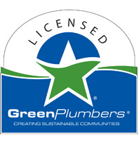 we are licensed green plumbers