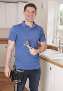 Jim, one of our Bethesda plumbing pros has finished installing a new kitchen faucet